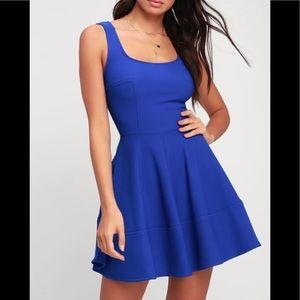Lulus Royal Blue Dress